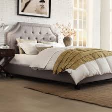 ... Large Image for Glamorous Bedroom For Cream Wood Single Headboard 129  ...