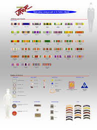 Ribbons And Ranking System U S Army J R O T C Parkdale
