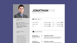 Free Professional Resume Template Business Basic Lite