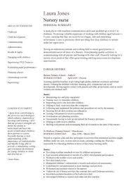 Curriculum Vitae For Nurses Cool Nursing Curriculum Vitae Sample Goalgoodwinmetalsco