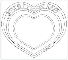 Jesus Loves Me Coloring Pages Printables Loves Me Coloring Page S
