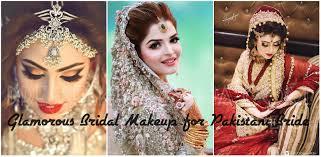 beautiful bridal makeup 2017 for wedding nikah enement