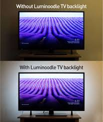 Ambient Light Behind Tv What Is Tv And Monitor Bias Lighting