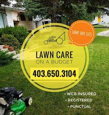 Budget Lawn Care Lawn Care On A Budget 7d A Week Calgary Airdrie