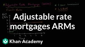 Arm Amortization Schedule Adjustable Rate Mortgages Arms Video Khan Academy