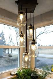 mason chandelier mason mason jar track lighting diy