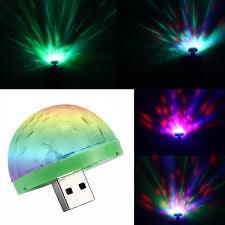 Mini Disco Ball Decorations Aimbinet 100W Mini USB Disco Light Portable home party light DC 100V 41