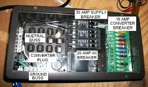 how to wire a amp breaker for an box wiring 50 rv power outlet amp