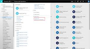 Budget Control In Dynamics 365 Finance And Operations