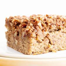 Vegan Gluten Free Banana Bread Coffee Cake Recipe Easy Healthy With Streusel Topping