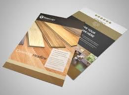 hardwood floor installation flyer template