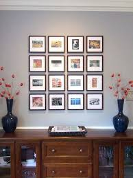 wall picture frame ideas home entrance wall decor from photo frames in tiles arrangement idea combine wall picture frame ideas