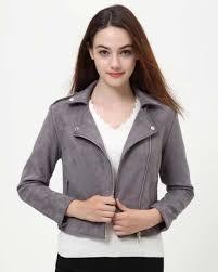 wonder fashion leather jacket women 2017 autumn and winter new lapel zipper leather jacket female short