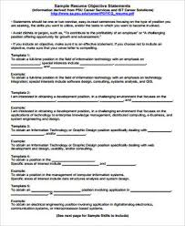 Sample Resume Objectives 100 Sample Resume Objective Statement Free Sample Example 56