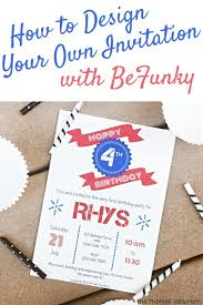 Design Your Own Birthday Party Invitations Design Your Own Birthday Party Invitations With Befunkys Designer