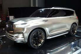 2018 infiniti suv models. brilliant suv 2018 infiniti qx80 monograph concept 2017 new york auto show with infiniti suv models