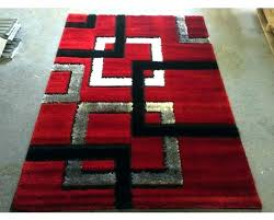 red black and gray area rugs red black gray area rug red contemporary area rugs square