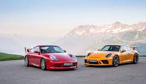 Celebrating 20 Years Of The Porsche 911 Gt3