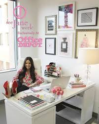 decorating a work office. Decorating Work Office The Sorority Secrets: Workspace Chic With  Depot/See Jane Decorating A Work Office I