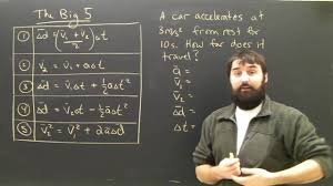 physics kinematics equations lesson acceleration part 1 kinematics for high school you