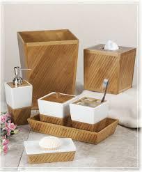 Designer Bathroom Accessories Sets White Wooden Bathroom Accessories
