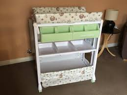babies r us olive henri baby bath and changing unit in ingleby