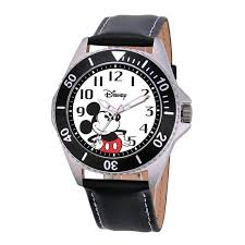 cheap mickey mouse watches men mickey mouse watches men get quotations · disney watches men s mickey mouse honor leather strap watch