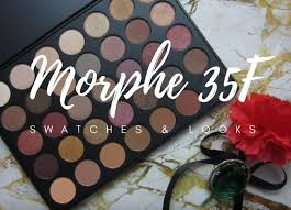 morphe makeup palette. morphe 35f fall into frost palette; swatches \u0026 looks makeup palette