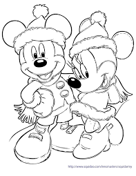 Disney Christmas Coloring Pages Printable Coloring Pages Free