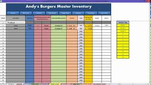 Restaurant Excel - How To: Inventory Video - Youtube