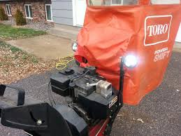 upgrading your snowblower lights to led lights snowblower forum report this image