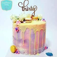 Buttercream 30th Birthday Cakes Zuccheros