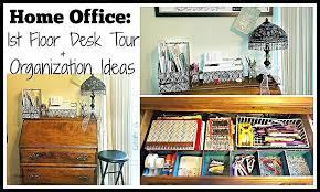 organizing ideas for office. Office Desk Organization Tips Home Floor Tour Ideas Pinterest . Organizing For F