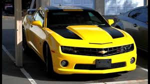 Chevrolet Camaro SS 2012 edicion Transformers - YouTube