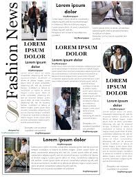 Powerpoint Newspaper Clipping Template Newspaper Themed Powerpoint Template Article For Old
