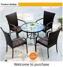 rattan wicker furniture coffee table