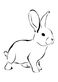 Coloring pages for kids rabbits (bunnies) coloring pages. Coloring Page Rabbit Free Printable Coloring Pages Img 27276