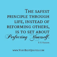 Self Improvement Quotes Gorgeous Self Improvement Quotes The Safest Principle Through Life Instead Of