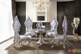 Dining Room Table Sets Leather Chairs Collection Cool Design Inspiration