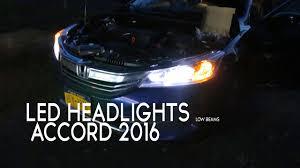 2017 Honda Accord Sport Bulb Size Chart Honda Accord 2016 Led Headlights Opt7 Hid Compared