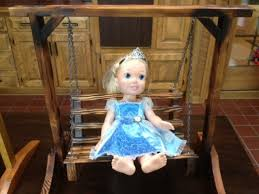 make your own doll furniture. Display Your Dolls Proudly With A Mini Porch Swing! Make Own Doll Furniture E