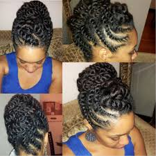 Twist Hair Style natural hair flattwist updo protective hairstyle youtube 2922 by stevesalt.us