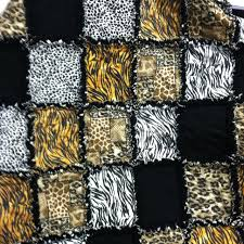 12 best Animal print quilts images on Pinterest | African fabric ... & Animal print quilt Adamdwight.com