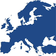- Cc0 Free Vector map Blue Europe Blank silhouette Download World Map
