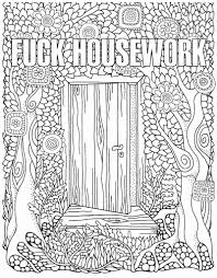 Word Coloring Pages Pictures The Swear Word Coloring Book Hannah