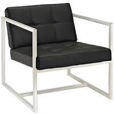 amazoncom modway hover modern reception chair black kitchen