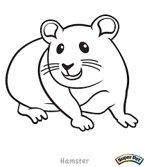 34 Cute Hamster Coloring Pages To Save Gianfredanet