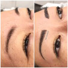 eyebrow microblading cosmetic tattooing