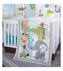 Lambs & Ivy Yoo Hoo 4 Piece Crib Bedding Set