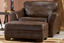 barclay over sized leather chair